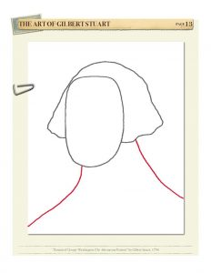 Drawing American Art Volume I by Kristin J. Draeger, Step 3