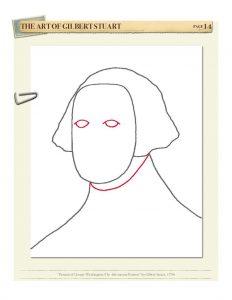 Drawing American Art Volume I by Kristin J. Draeger, Step 4