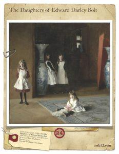 American Art Bingo Volume II by Kristin J. Draeger Card 24