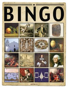 American Art Bingo Volume I by Kristin J. Draeager, Bingo Card 1