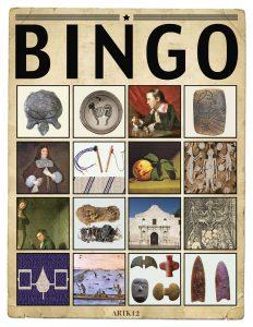 American Art Bingo Volume I by Kristin J. Draeager, Bingo Card 2