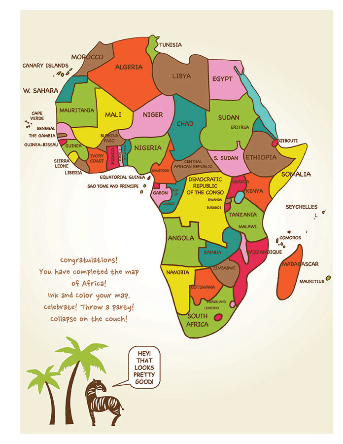 Draw Africa | Kristin J. Draeger