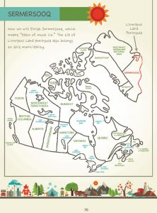 Draw Canada and Greenland by Kristin J. Draeger, Page 70