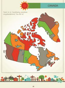 Draw Canada and Greenland by Kristin J. Draeger, Page 81