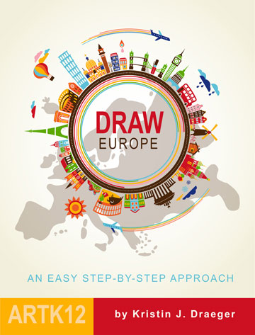 Draw Europe by Kristin Draeger