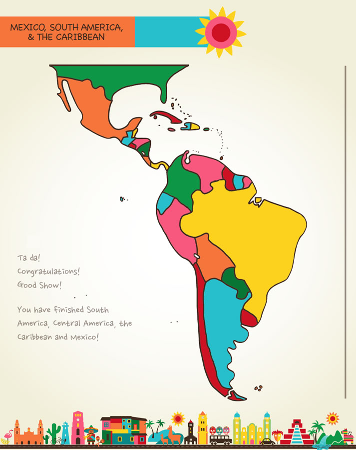 Draw Mexico, Central & South America | Kristin J. Draeger