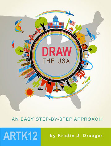Draw the USA by Kristin Draeger