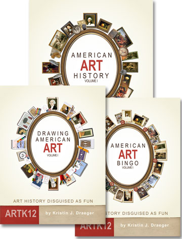 American Art History Semester 1 (3 Books) by Kristin J. Draeger