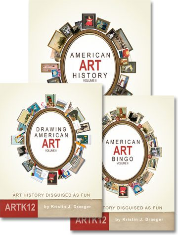 American Art History Semester 2 (3 Books) by Kristin J. Draeger