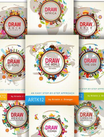 Draw Map Series (9 books) by Kristin J. DraegerDraw Map Series (8 books) by Kristin J. Draeger