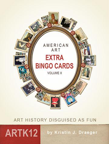 American Art Extra Bingo Cards: Volume II by Kristin J. Draeger