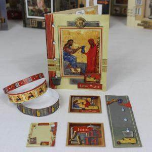 Create Bible Verse Cards John 4:13-14 Front