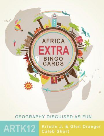 Africa Extra Bingo Cards Cover